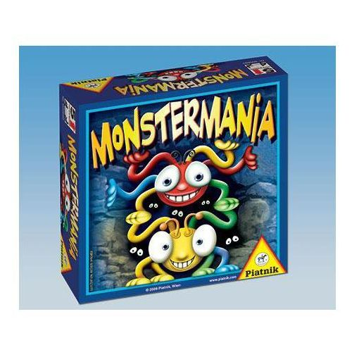 Piatnik , gra logiczna monstermania (9001890600692)