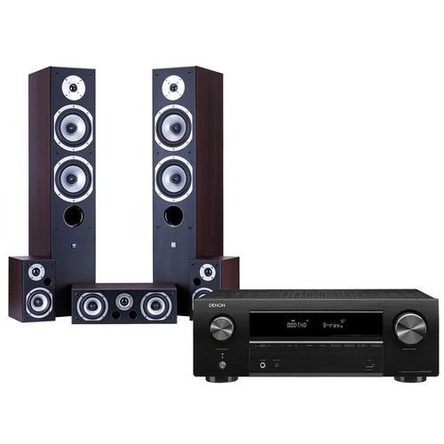 Kino domowe DENON AVR-X550BT + WILSON Movix Wenge (2900390590847)