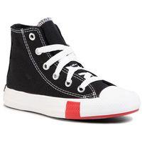 Trampki - ctas hi 366988c black/university red/amarillo marki Converse