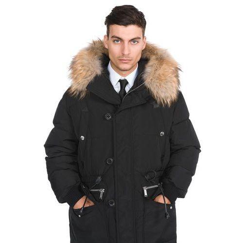 płaszcz czarny m marki Dsquared2