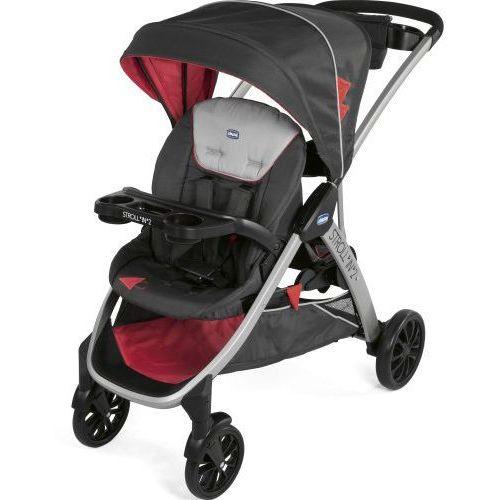 Podwójny wózek z dostawką Chicco Stroll in 2 - Lava, 05079564370000