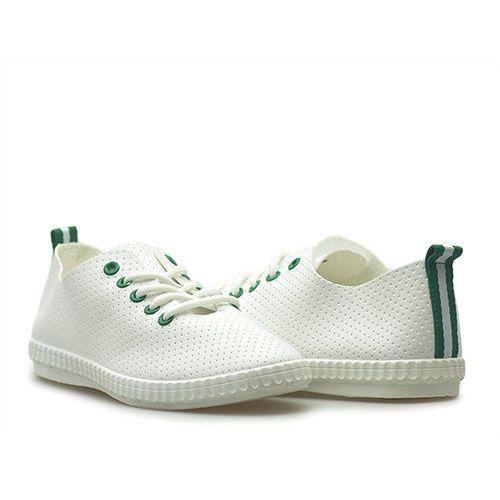 Półbuty k1771101 białe/zielone marki Kylie