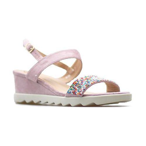Sandały k1803504 malva różowe marki Kylie
