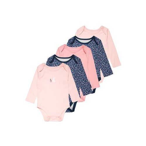mothercare GIRLS FLORAL BUNNY BABY 5 PACK Body navy