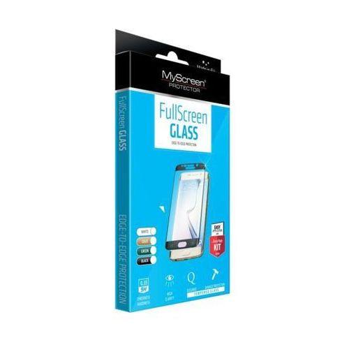 Szkło Hartowane MyScreen FullScreen Glass Galaxy S6 Edge na cały ekran, czarna ramka (5901924917434)