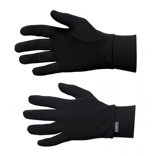 Rękawiczki termoaktywne Odlo WARM Kids czarne