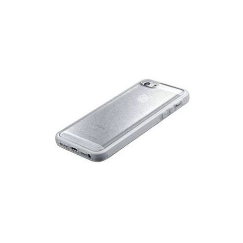 Obudowa dla telefonów komórkowych selfie case pro apple iphone 5/5s/se (selfieciph5s) srebrny marki Cellularline
