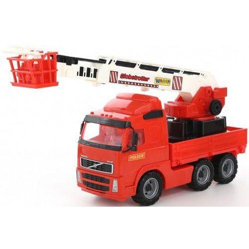 Volvo ciężarówka straż pożarna z długim ramieniem 8787 marki Polesie