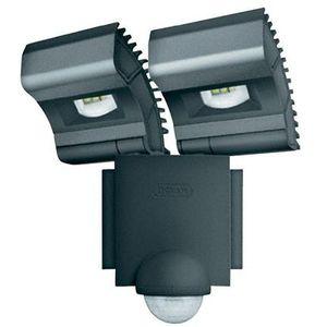 NOXLITE LED SPOT GREY 2x8W +SENSOR 41015 - oprawa LED do oświetlenia zewnętrznego