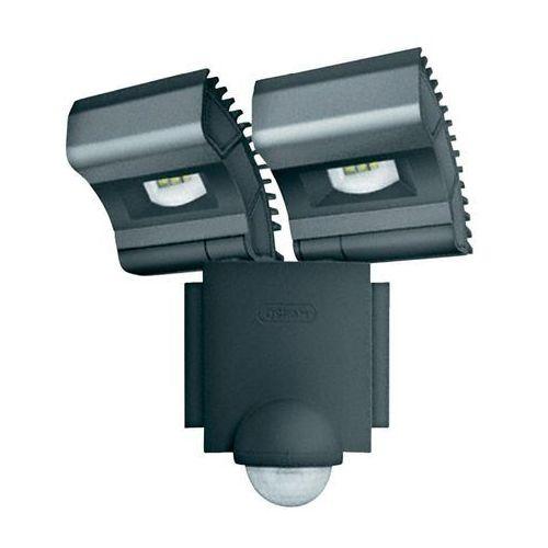 Noxlite led spot grey 2x8w +sensor 41015 - oprawa led do oświetlenia zewnętrznego marki Osram