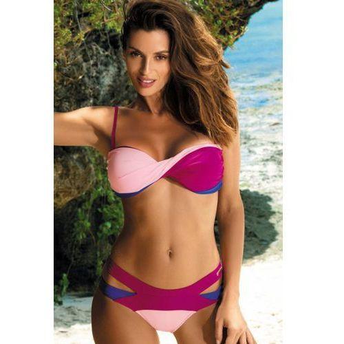 Kostium kąpielowy model olimpia magenta-dafne-baltimorai m-438 fuksja/light pink marki Marko