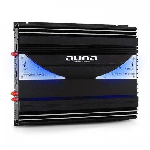 Auna AMP-CH044-kanałowy wzmacniacz samochodowy 2800W (4260195335547)