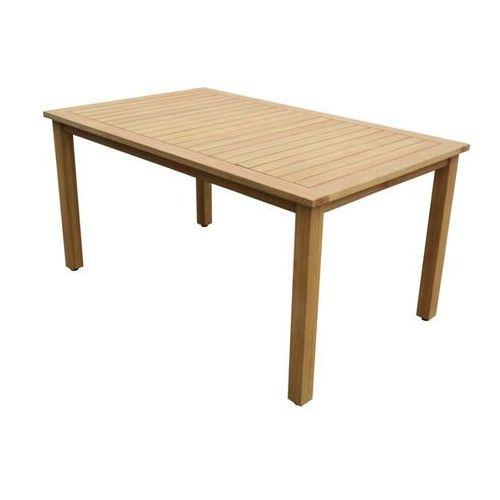 Stół ogrodowy AZZAO z drewna eukaliptusowego Dł. 150 cm