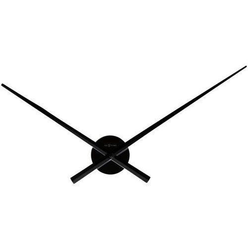 NeXtime - Zegar ścienny Hands - czarny