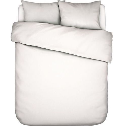 Pościel Minte biała 200 x 200 cm z 2 poszewkami na poduszki 80 x 80 cm