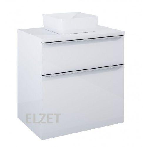 ELITA szafka Lofty 70 white pod umywalkę nablatową + blat 70 white 167026+167034, 167026.167034