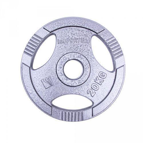 Insportline Obciążenie olimpijskie stalowe  hamerton 20 kg (8596084027139)