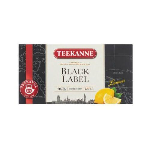 TEEKANNE 20x1,65g Black Lemon Mieszanka herbat czarnych