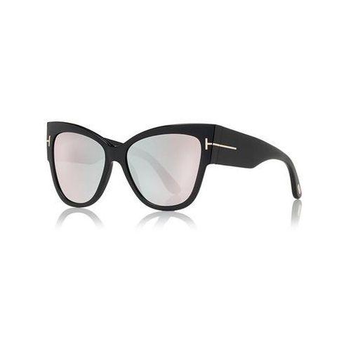 Okulary Słoneczne Tom Ford FT0371-F Asian Fit ANOUSHKA FLASH LENSES 01Z