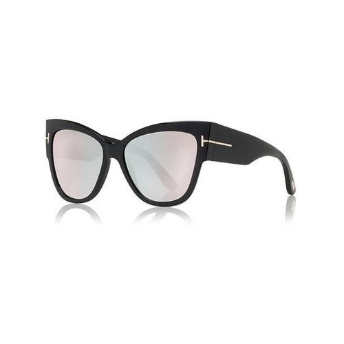 Tom ford Okulary słoneczne ft0371-f asian fit anoushka flash lenses 01z