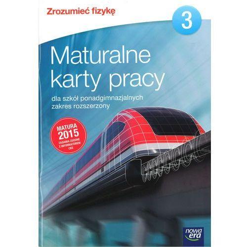 Fizyka Zrozumieć fizykę Maturalne karty pracy cz.3 / Zakres rozszerzony (2014). Tanie oferty ze sklepów i opinie.