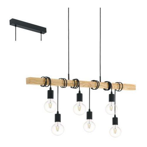 Eglo 95499 - Lampa wisząca TOWNSHEND 6xE27/60W/230V, 95499