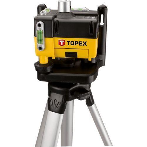 Poziomnica laserowa obrotowa 29c908 + darmowa dostawa! marki Topex