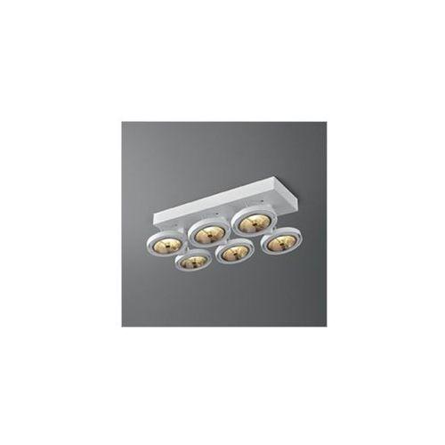 Aquaform Bares 111 x6 sl reflektory 15016-03 biały
