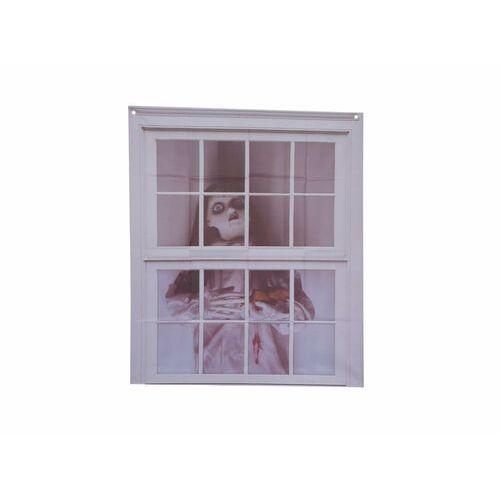 Dekoracja na okno na halloween - 75 x 90 cm - 1 szt. marki Guirca