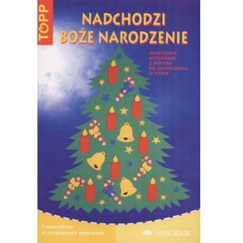 Nadchodzi Boże Narodzenie Świąteczne wycinanki z papieru do zawieszenia w oknie (807342083X)