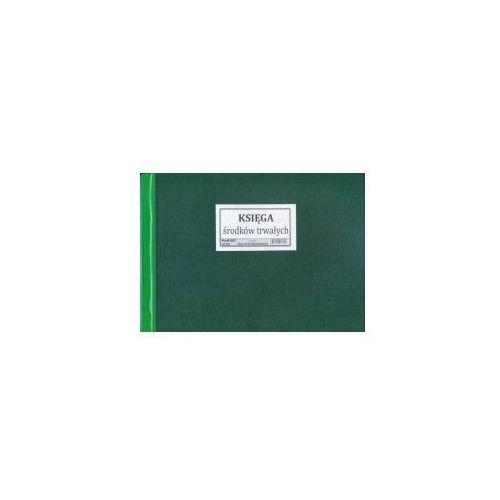 Księga środków trwałych a4, oprawa twarda [pu/k-207] marki Firma krajewski