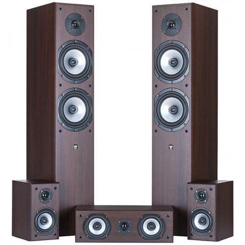 Zestaw głośników WILSON CINEMATIC 5.0 Wenge, CINEMATIC VENGE 5.0