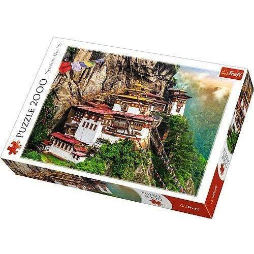 Trefl Puzzle 2000 tygrysie gniazdo, bhutan - (5900511270921)