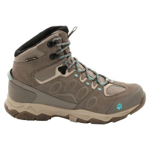 Jack wolfskin Buty mtn attack 5 texapore mid women - icy water