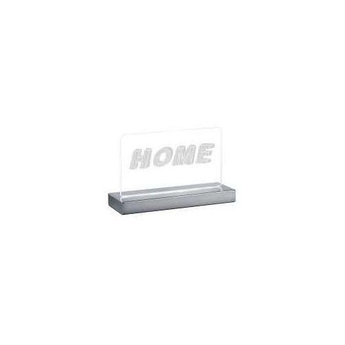 Reality home lampa stołowa led chrom, 1-punktowy - dworek - obszar wewnętrzny - home - czas dostawy: od 3-6 dni roboczych