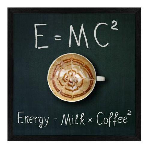 Obraz 30 x 30 cm Zestaw E=MC2, K3030,192