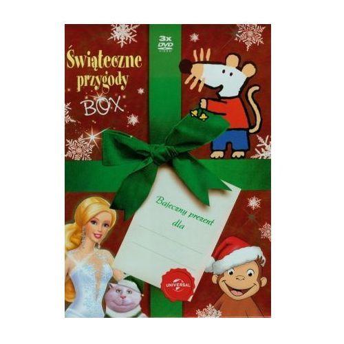 Tim film studio Świąteczne przygody box 3dvd