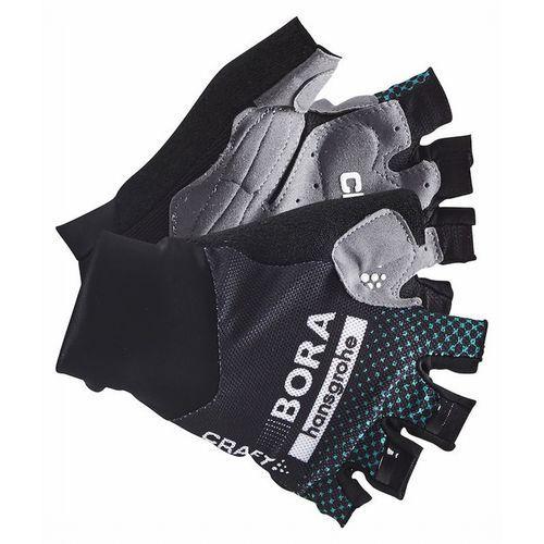 Rękawiczki krótkie CRAFT Bora-Hansgrohe czarny-zielony / Rozmiar: XXL (7318572775145)