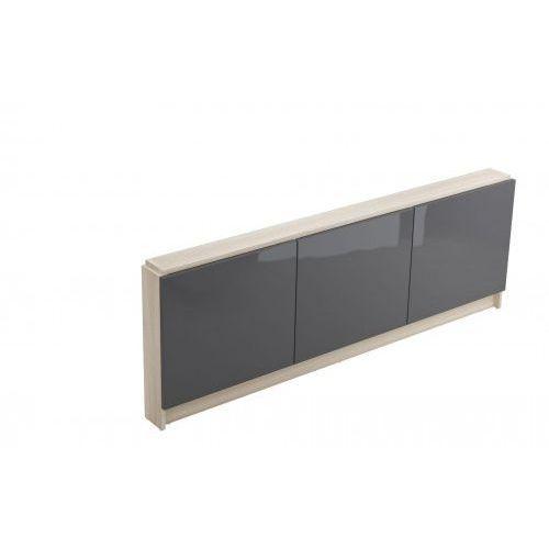CERSANIT obudowa meblowa - panel czołowy wanny Smart 160 - jasny jesion/szary S568-025, S568-025