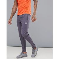 Reebok Training Work Out Ready Trackster Tapered Joggers In Grey CD5527 - Grey
