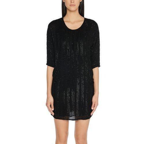 Sukienka Marc Cain Collections FC 21.35 W92 dla kobiet, kolor: czarny, rozmiar: 40 (rozmiar producenta: 4)