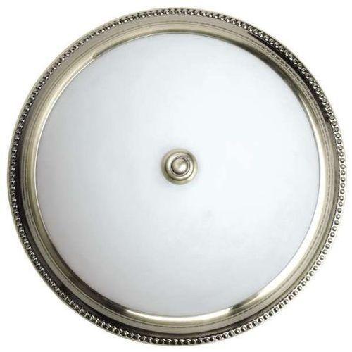 Plafon lampa sufitowa el grado 4290451 klasyczna oprawa okrągła patyna biała marki Spotlight