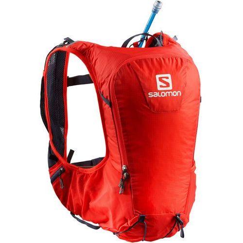 Salomon skin pro 10 plecak czerwony 2018 plecaki do biegania