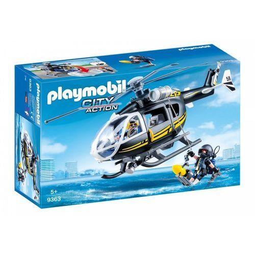 Playmobil ® City Action Helikopter SEK 9363 - czarny