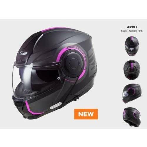 Ls2 Kask motocyklowy ff902 scope arch matt titan pink - nowość 2021 roku