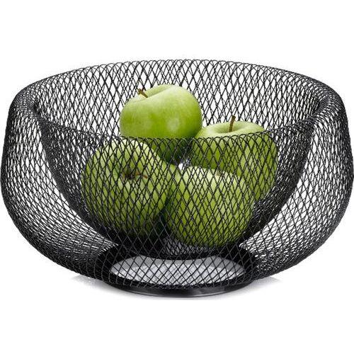 Kosz na owoce, metalowa, czarna siateczka marlo kela (ke-12511) (4025457125119)