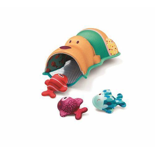 Lilliputiens zabawki do wody miś cesar i rybki z neoprenu