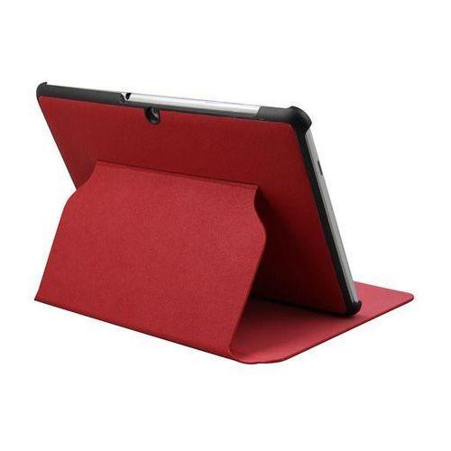 """Etui Qoltec Premium do GALAXY TAB2 P5100 10.1\"""", czerwony (5908260279479)"""