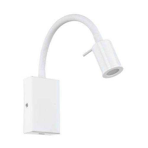Kinkiet lampa ścienna Eglo Tazzoli 1x3,5W LED biały 96566 (9002759965662)