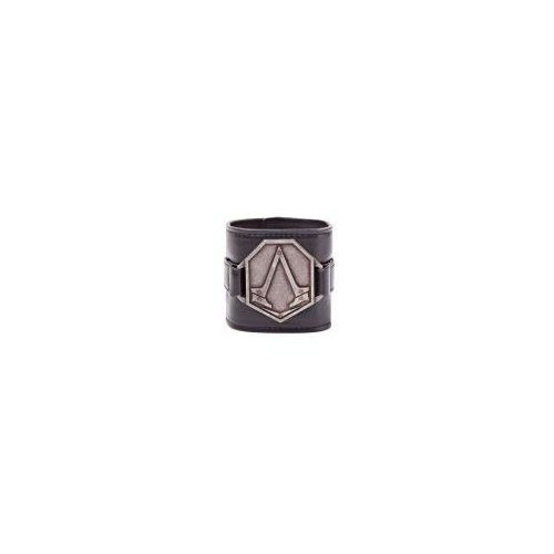 Good loot Assassin's creed - pu wristband with metal logo patch